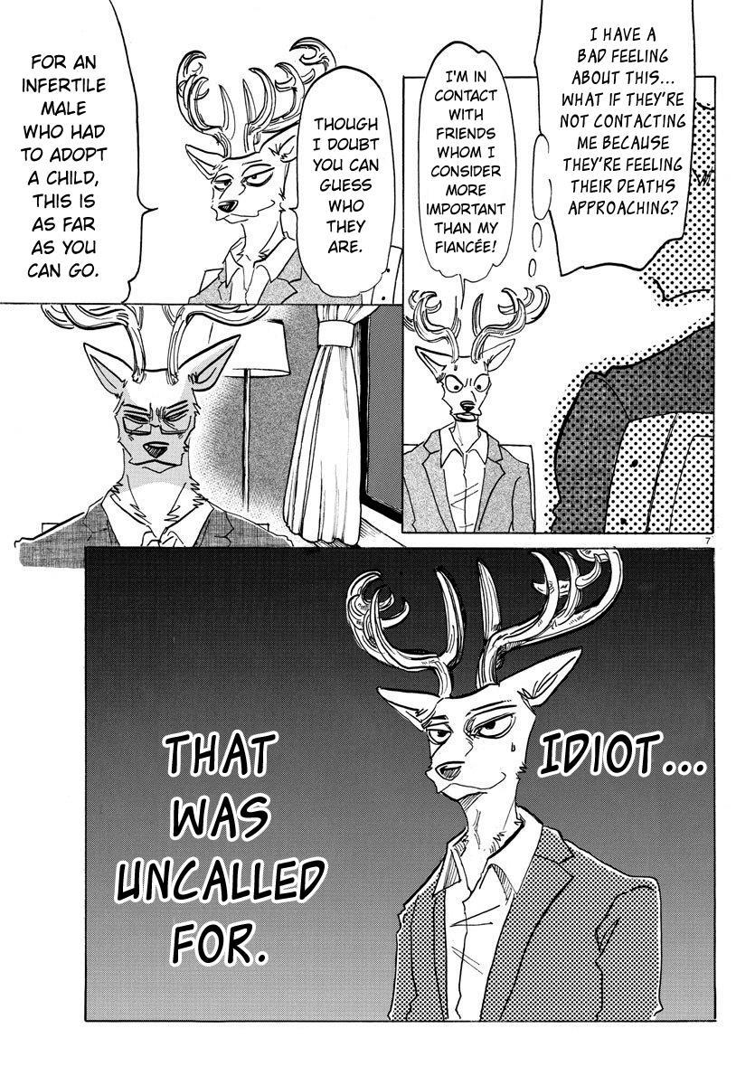 Beastars Manga, Chapter 157 image 007