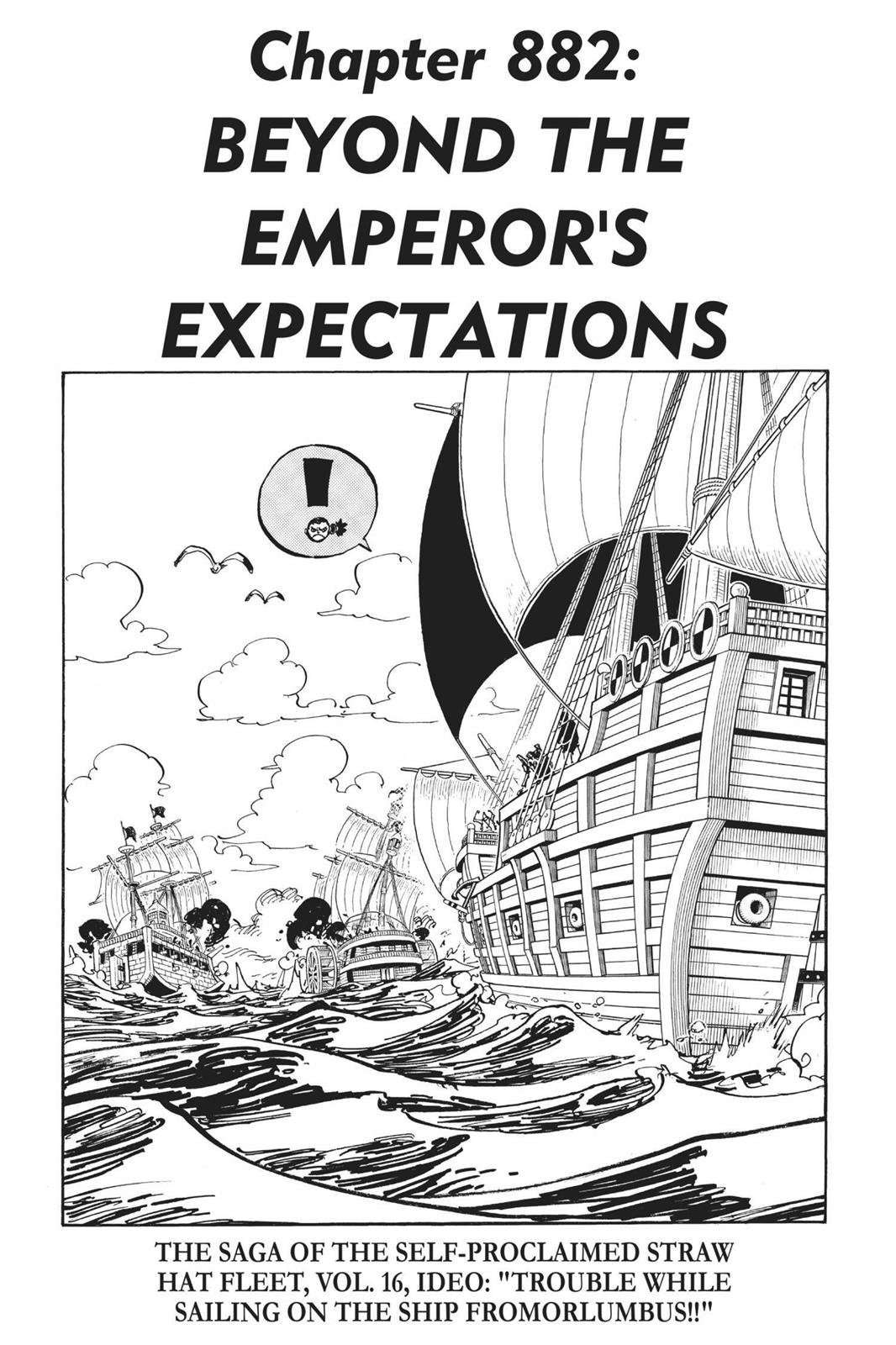 One Piece, Chapter 882 image 001