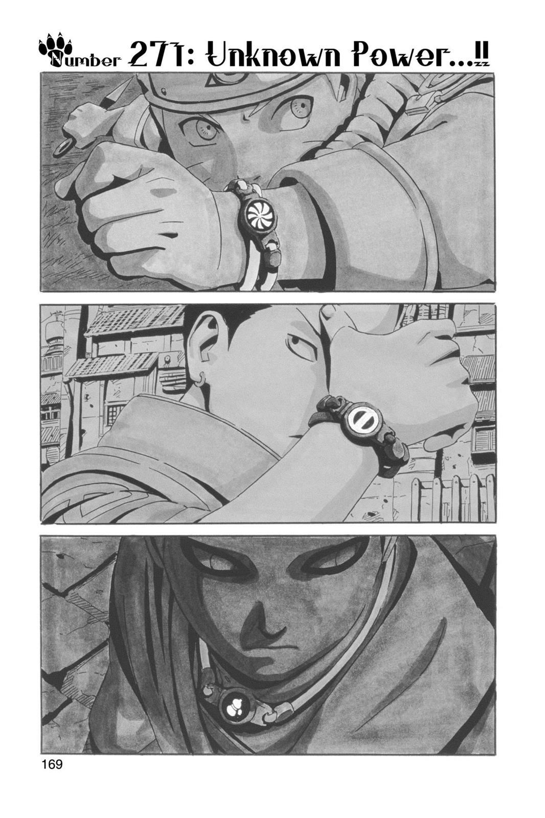 Naruto, Chapter 271 image 001