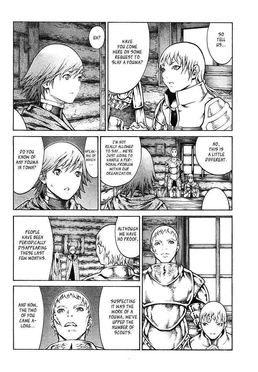 Claymore, Chapter 74 image 012