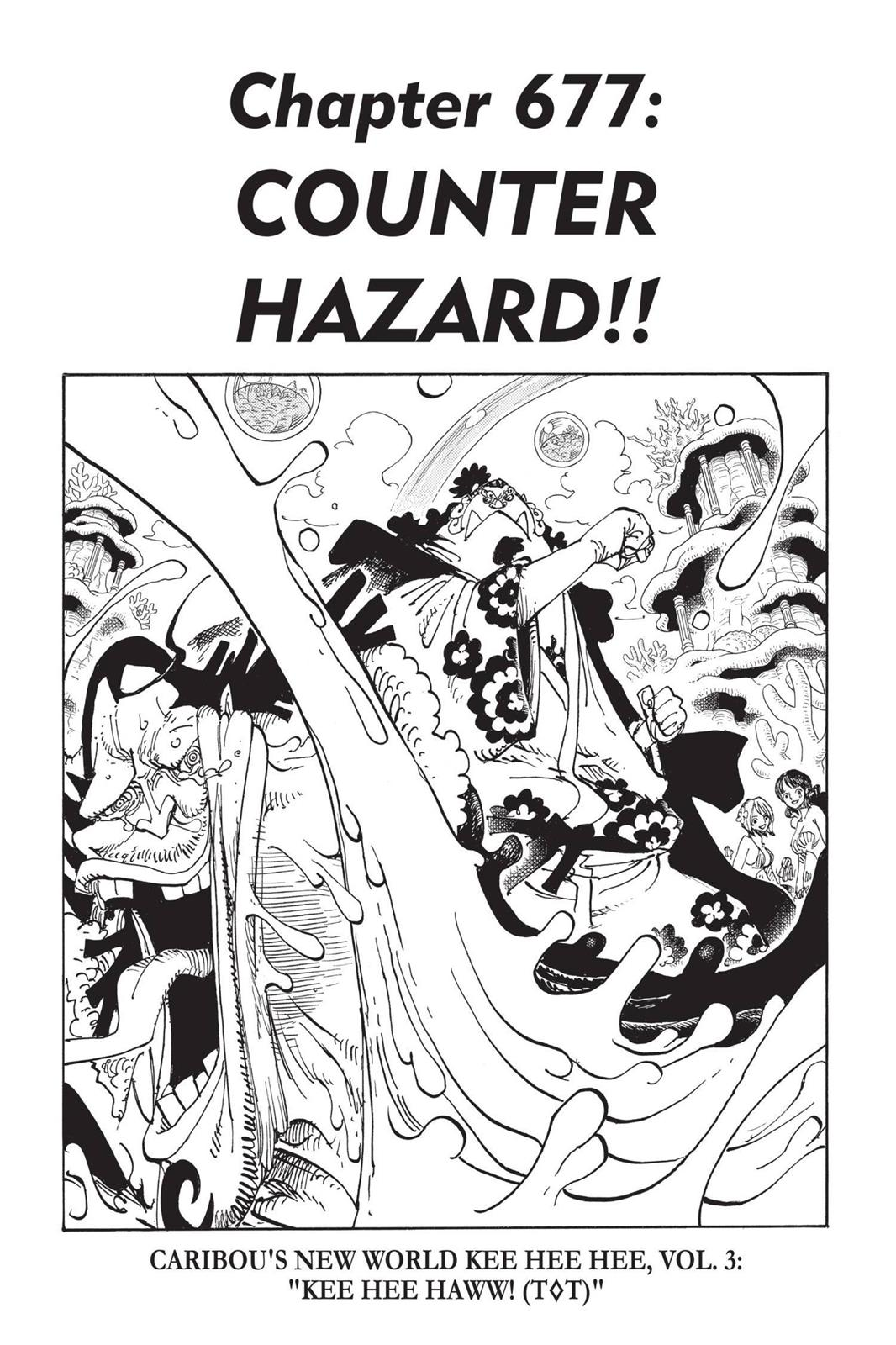 One Piece, Chapter 677 image 001