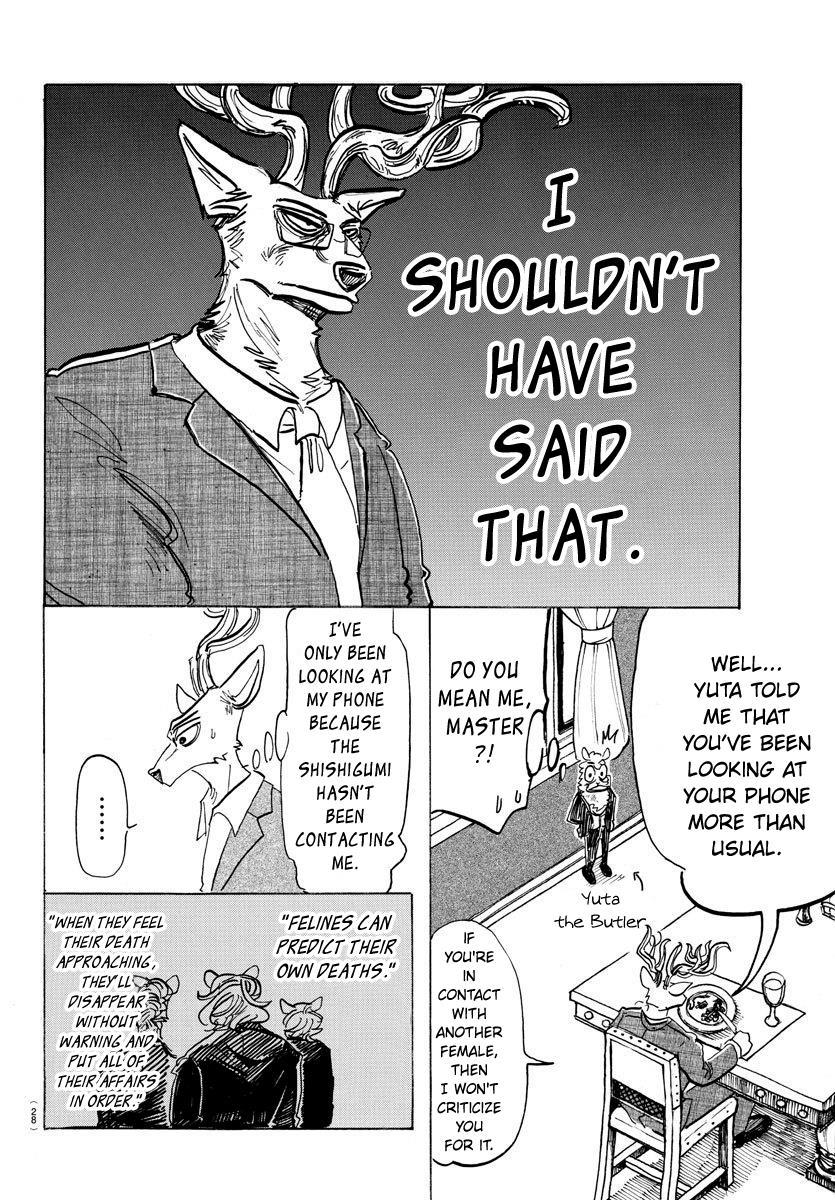 Beastars Manga, Chapter 157 image 006