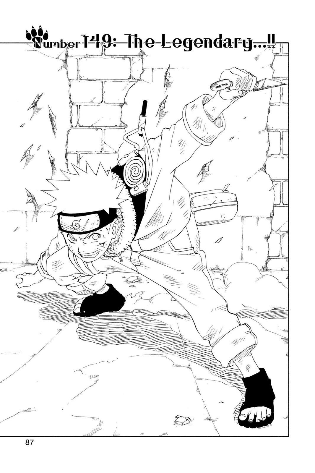 Naruto, Chapter 149 image 001