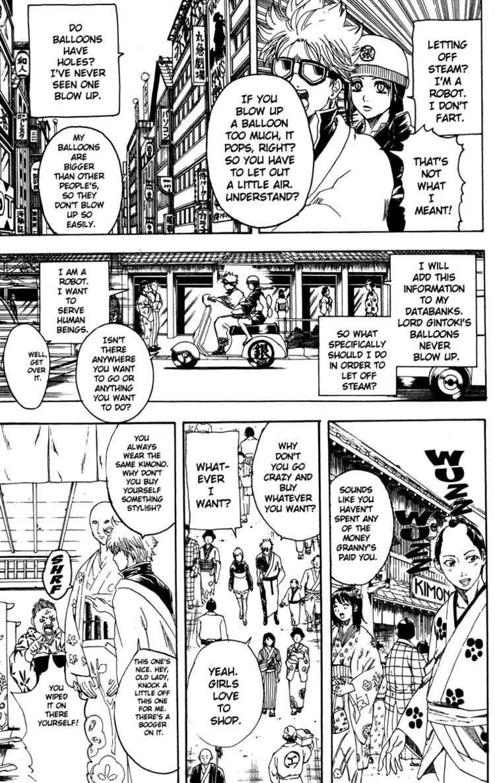 Gintama Chapter, 183 image 007