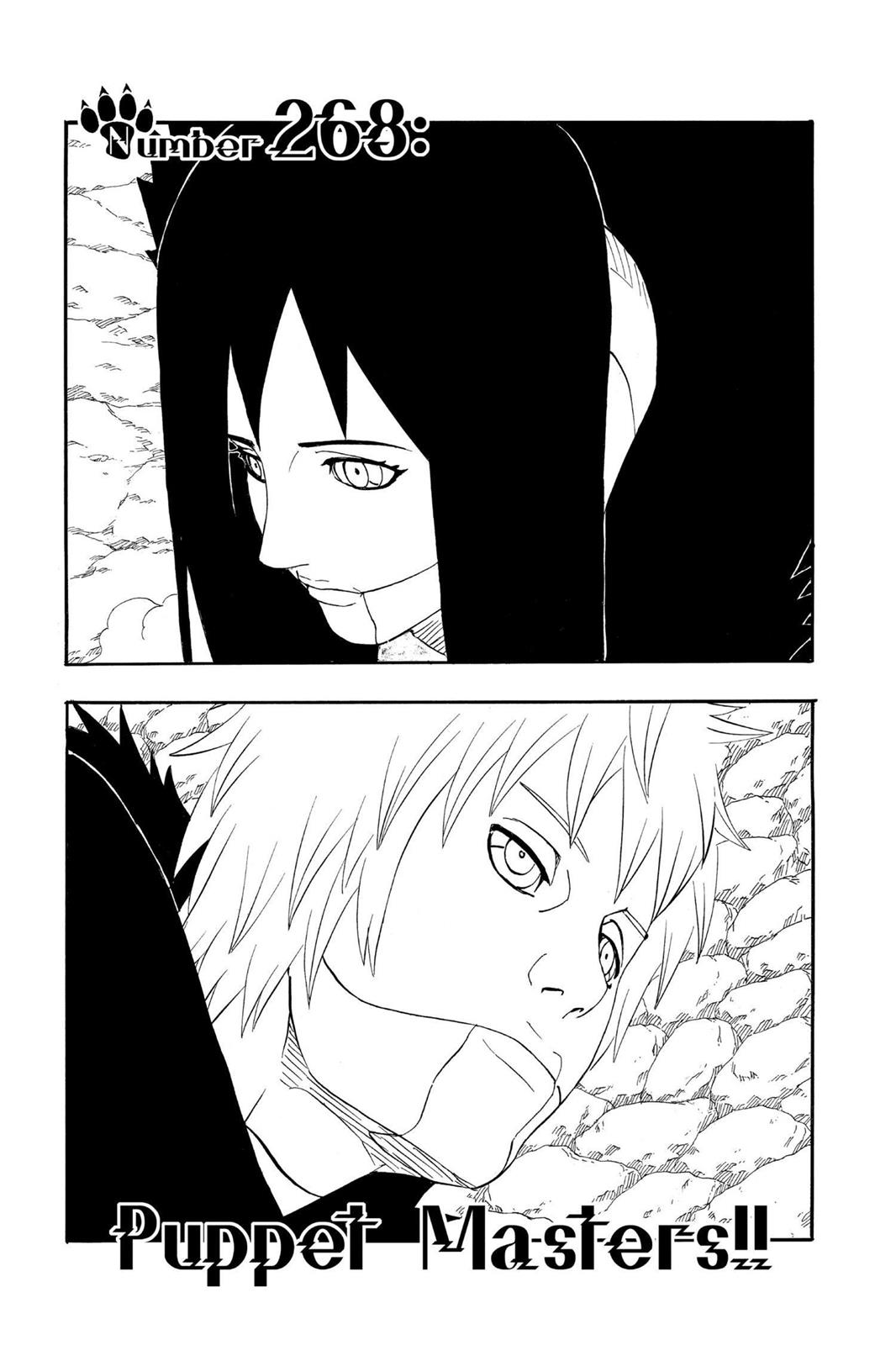 Naruto, Chapter 268 image 001