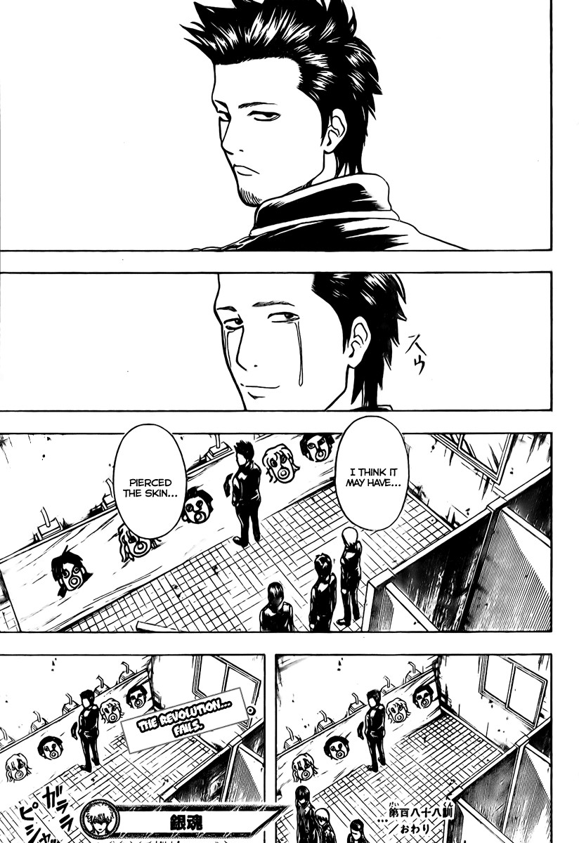 Gintama Chapter, 188 image 021