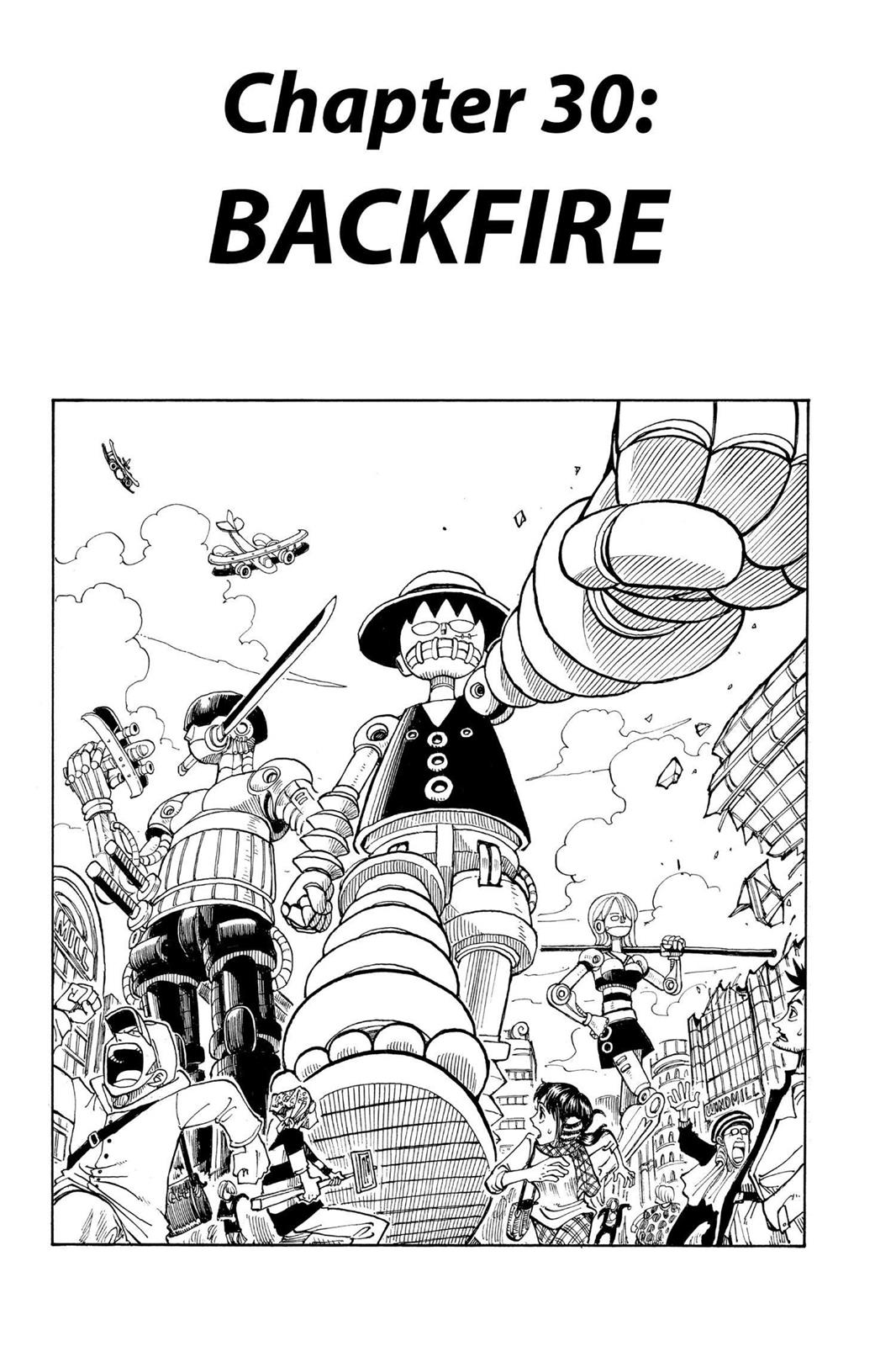 One Piece, Chapter 30 image 001