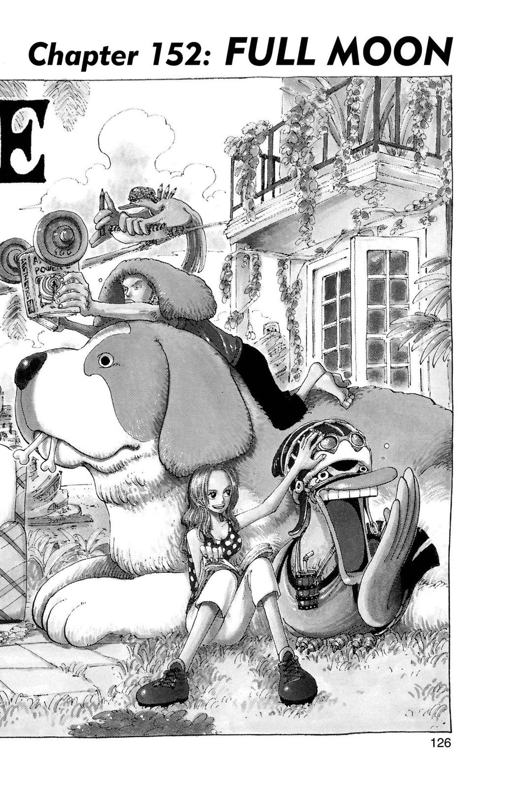 One Piece, Chapter 152 image 001