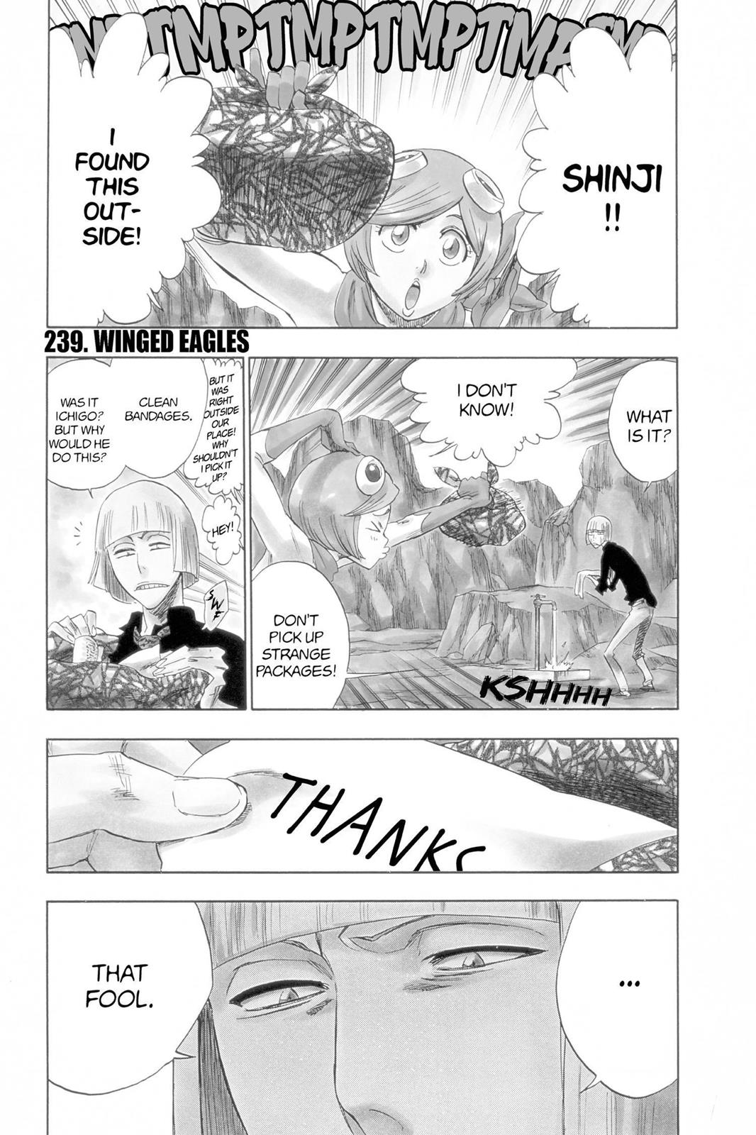 Bleach, Chapter 239 image 001