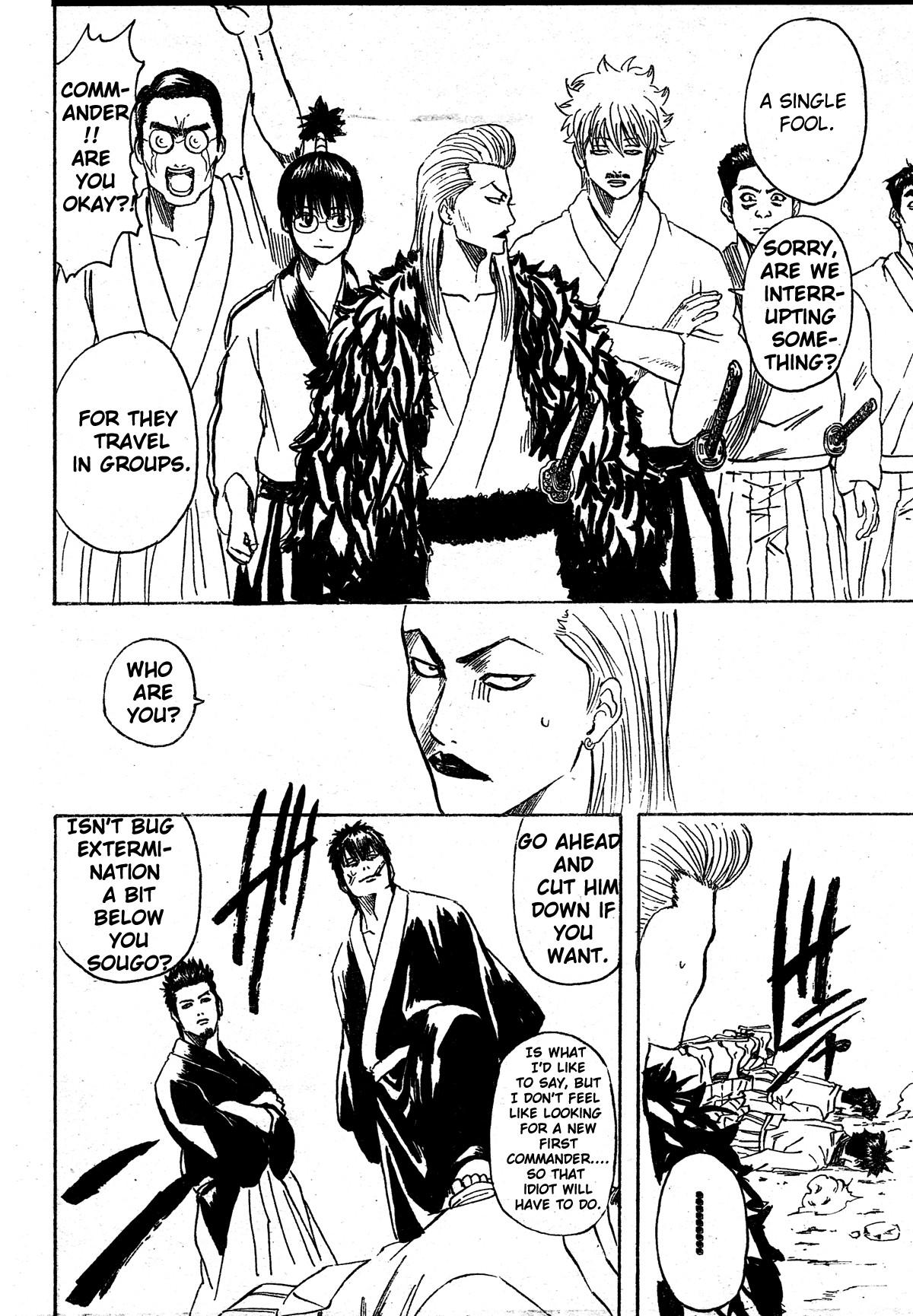 Gintama Chapter, 272 image 016