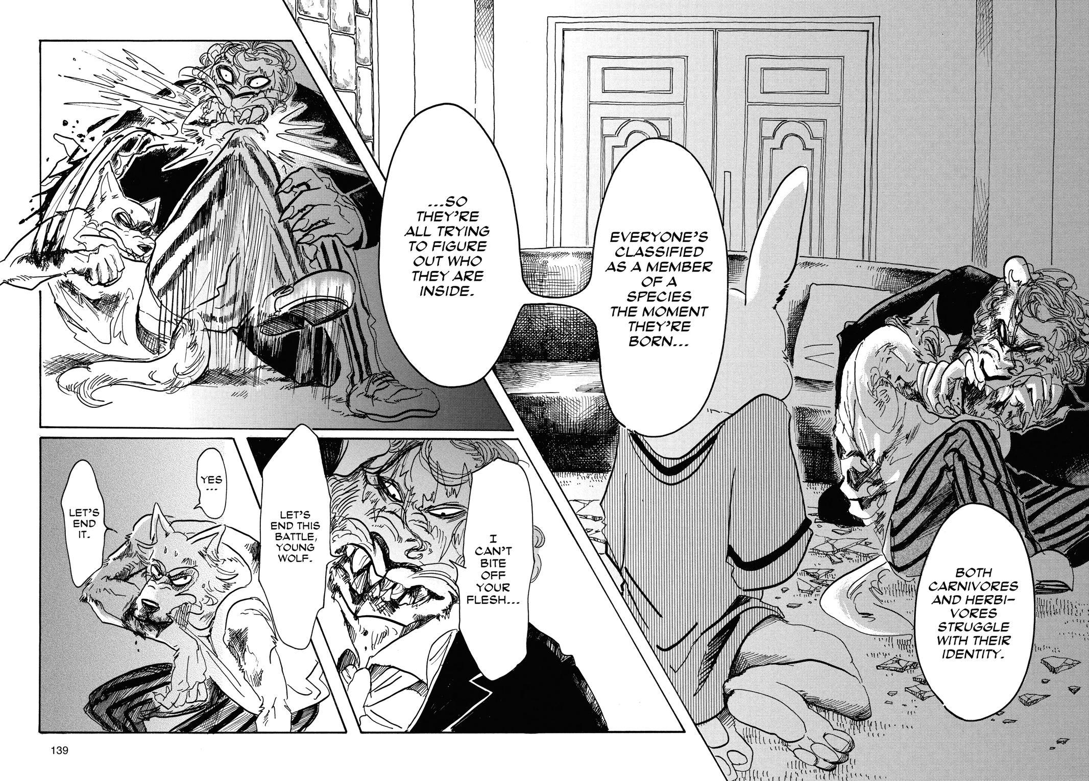 Beastars Manga, Chapter 41 image 011