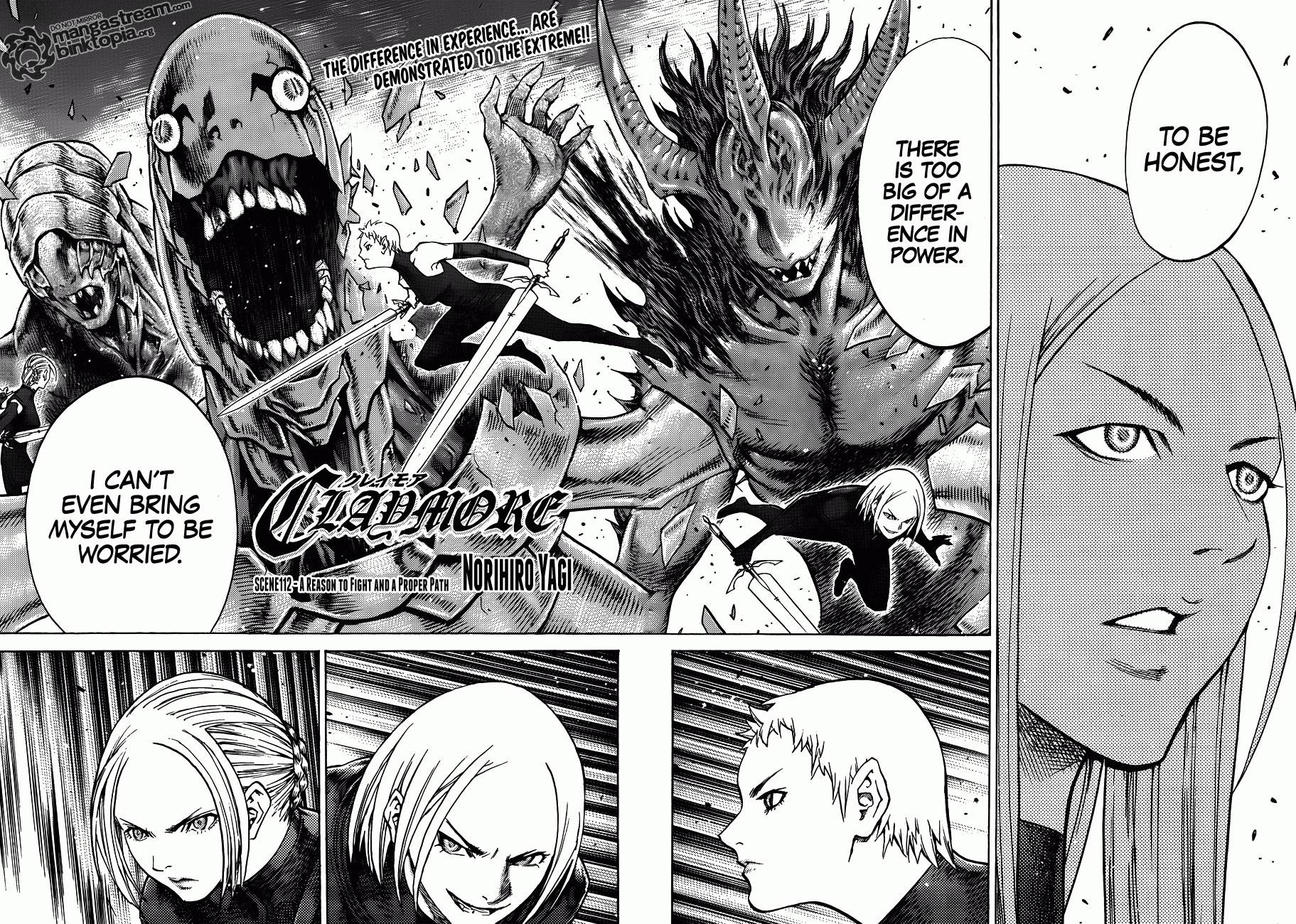 Claymore, Chapter 112 image 003