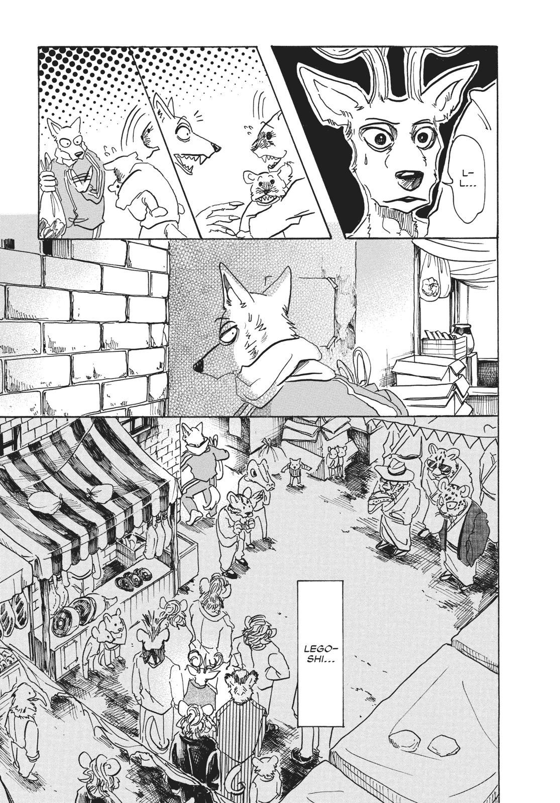 Beastars Manga, Chapter 66 image 005