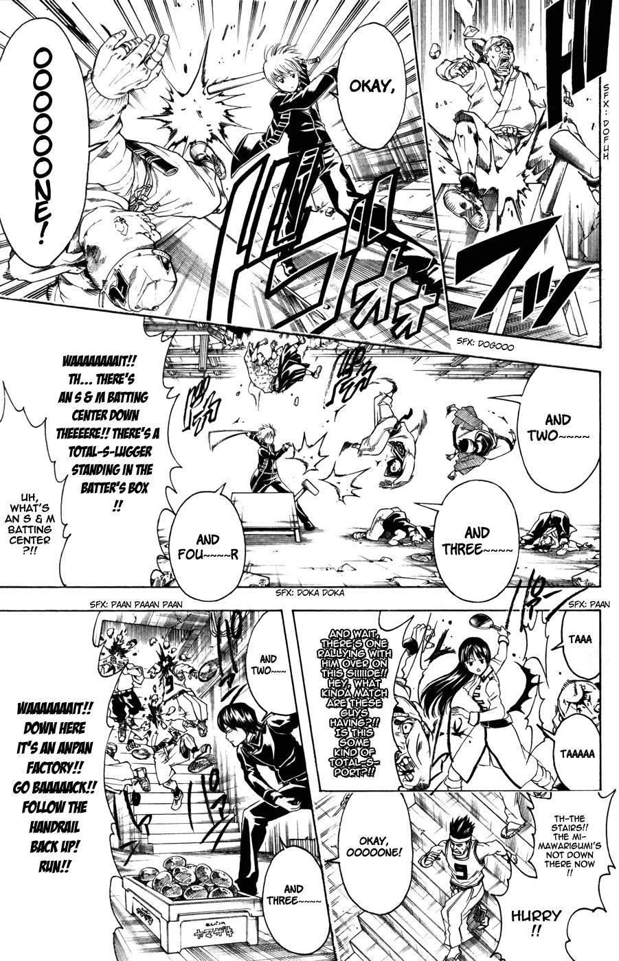 Gintama Chapter, 369 image 017
