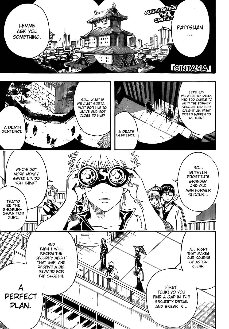 Gintama Chapter, 387 image 001