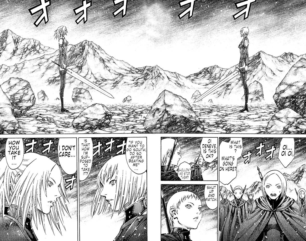 Claymore, Chapter 67 image 009