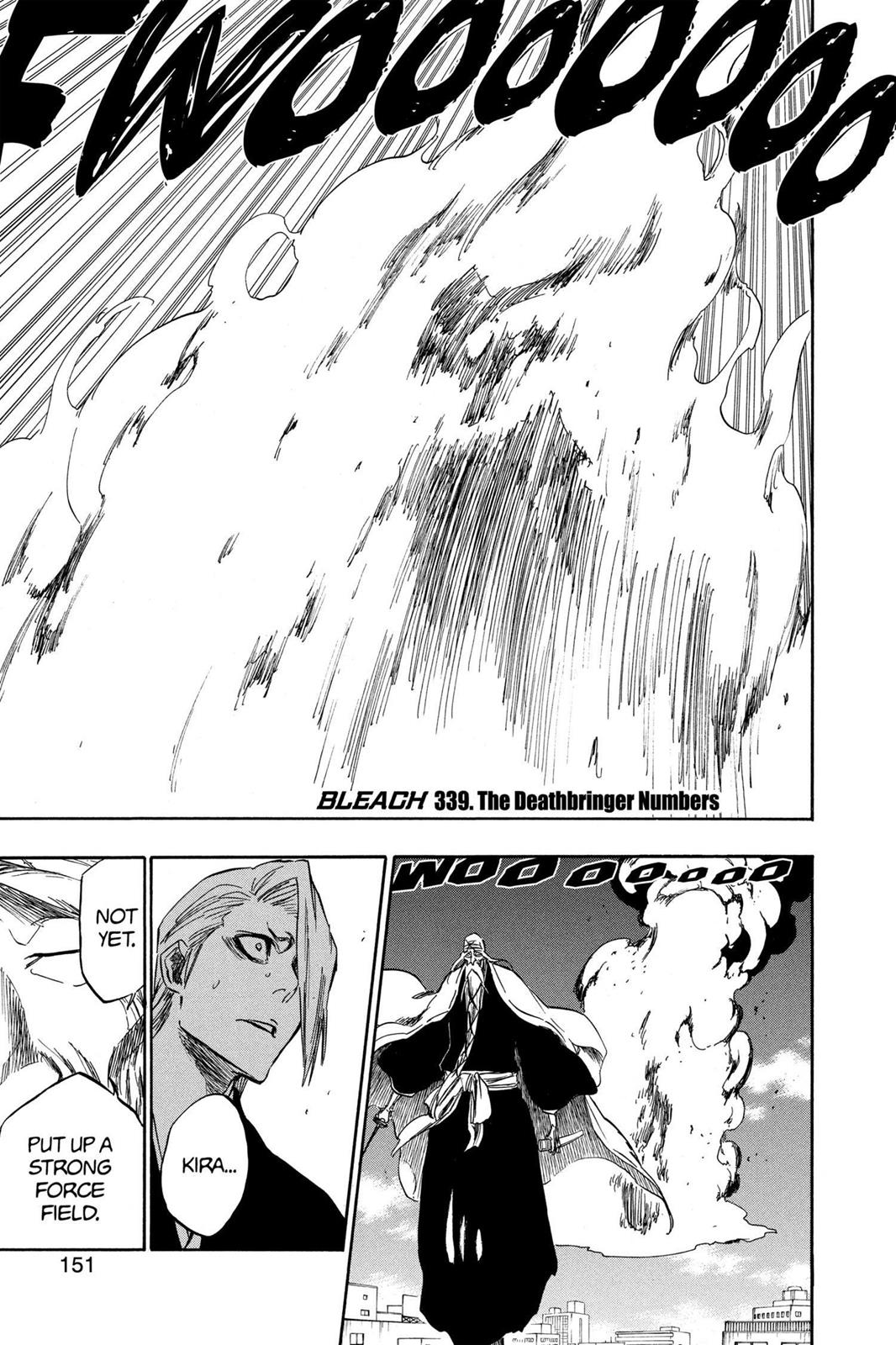 Bleach, Chapter 339 image 001