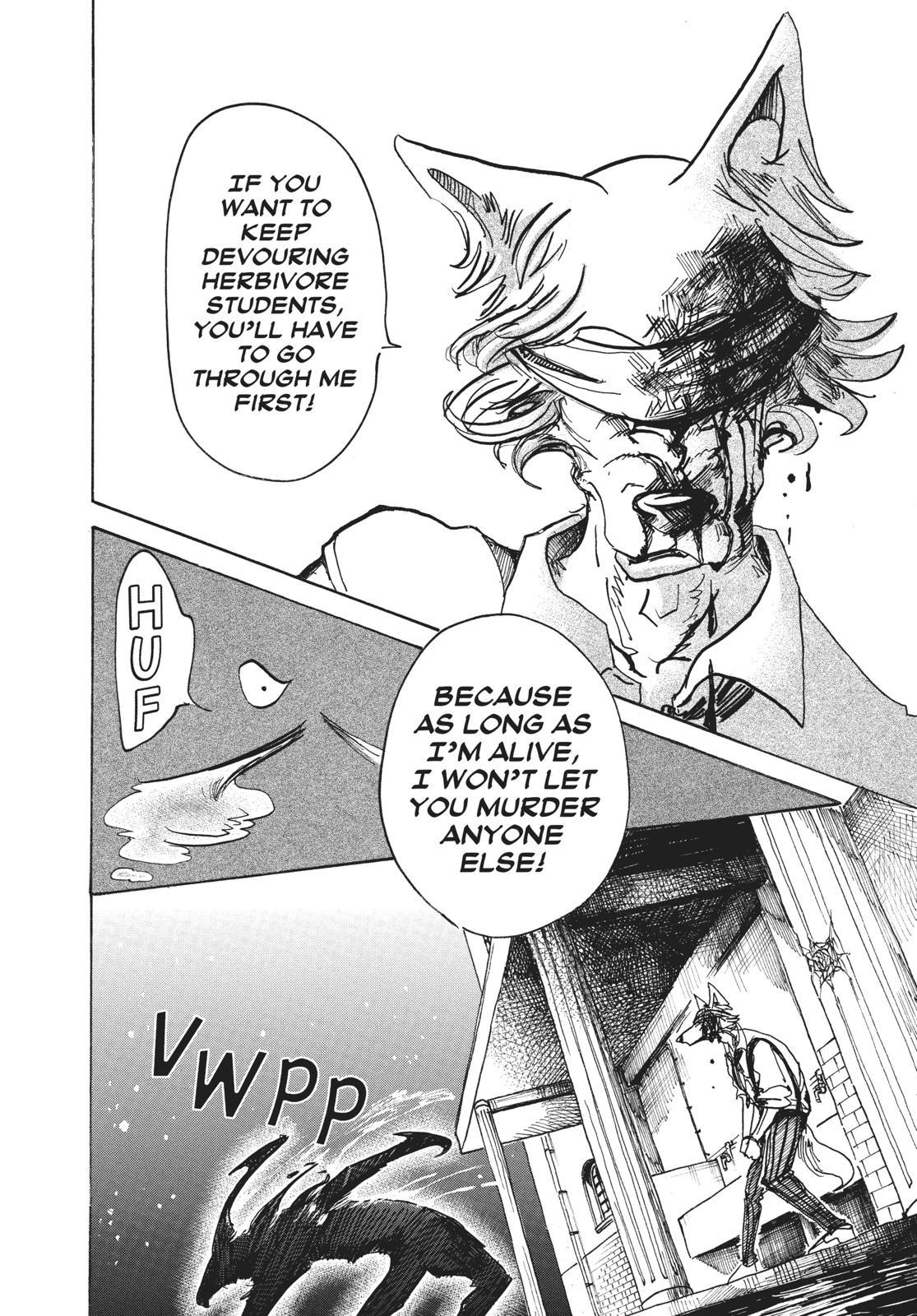 Beastars Manga, Chapter 60 image 012