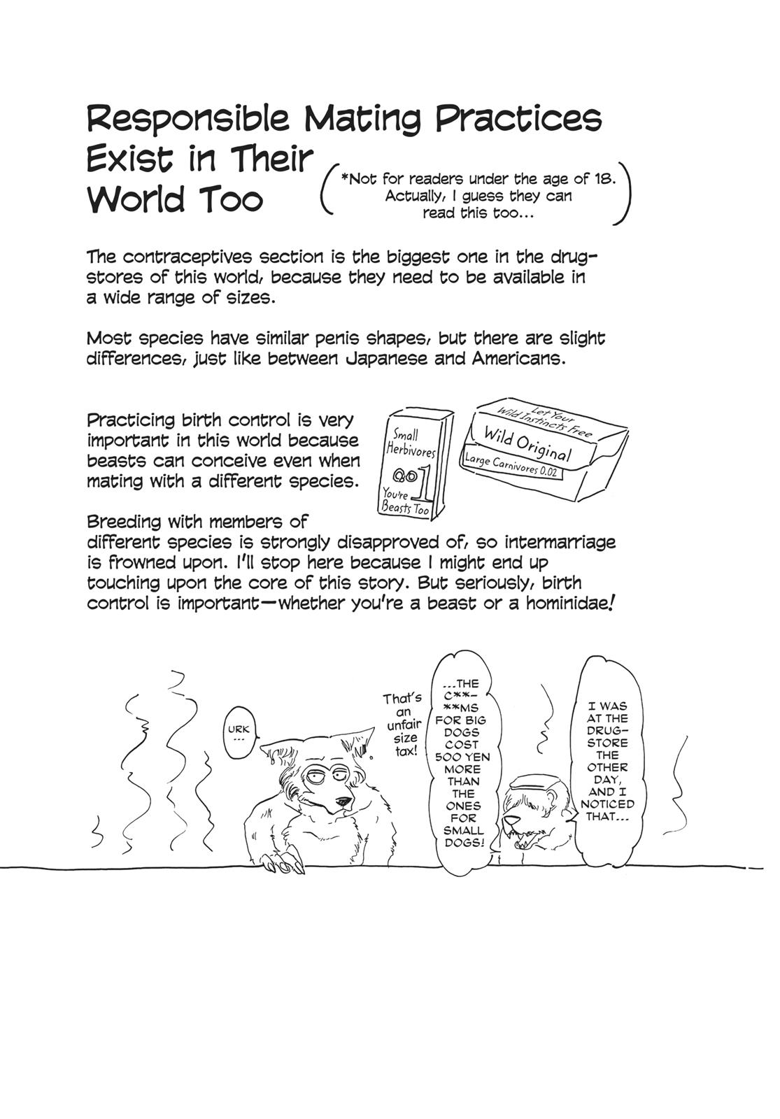 Beastars Manga, Chapter 34 image 022