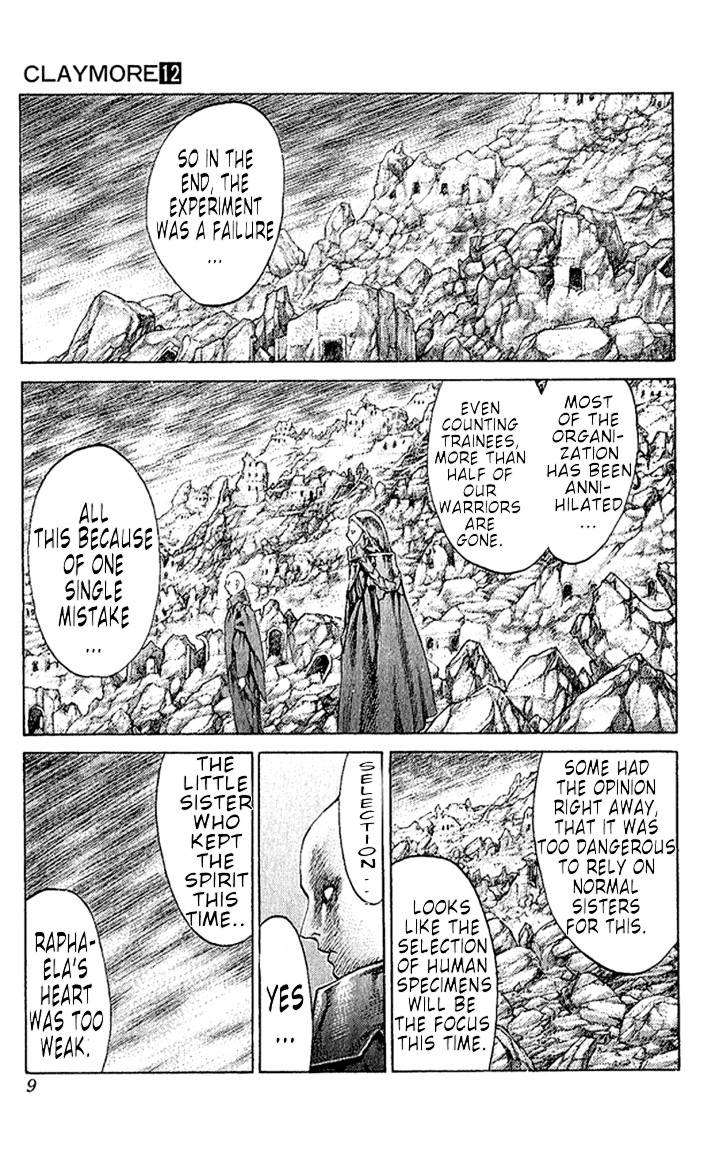Claymore, Chapter 64 image 010