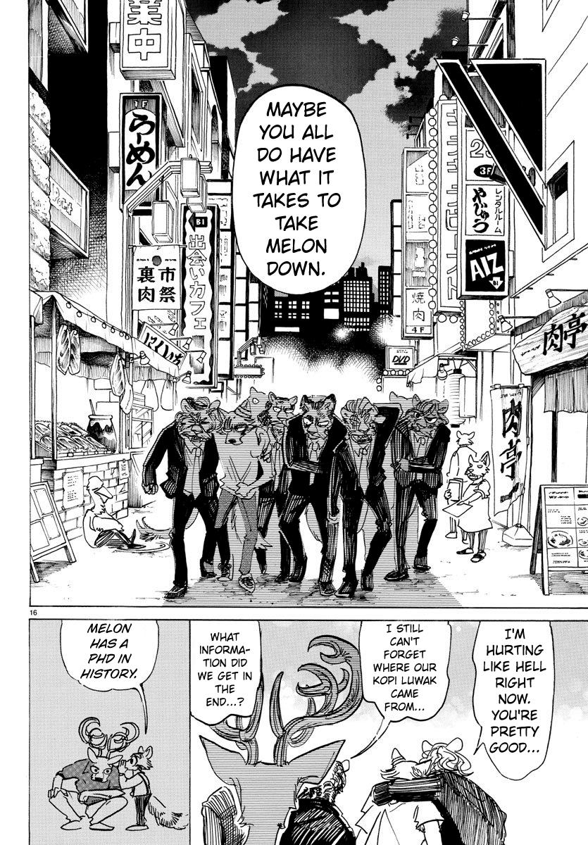 Beastars Manga, Chapter 147 image 017