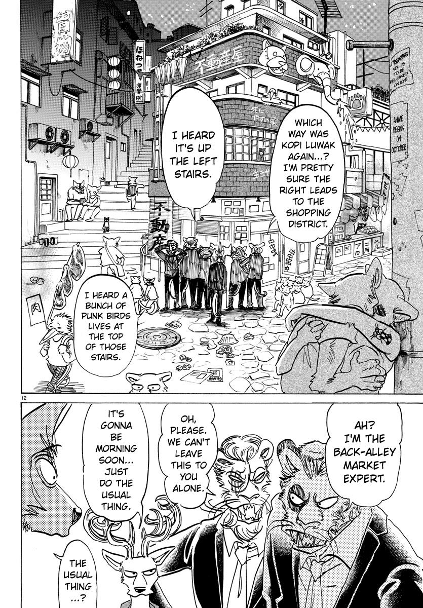 Beastars Manga, Chapter 144 image 011