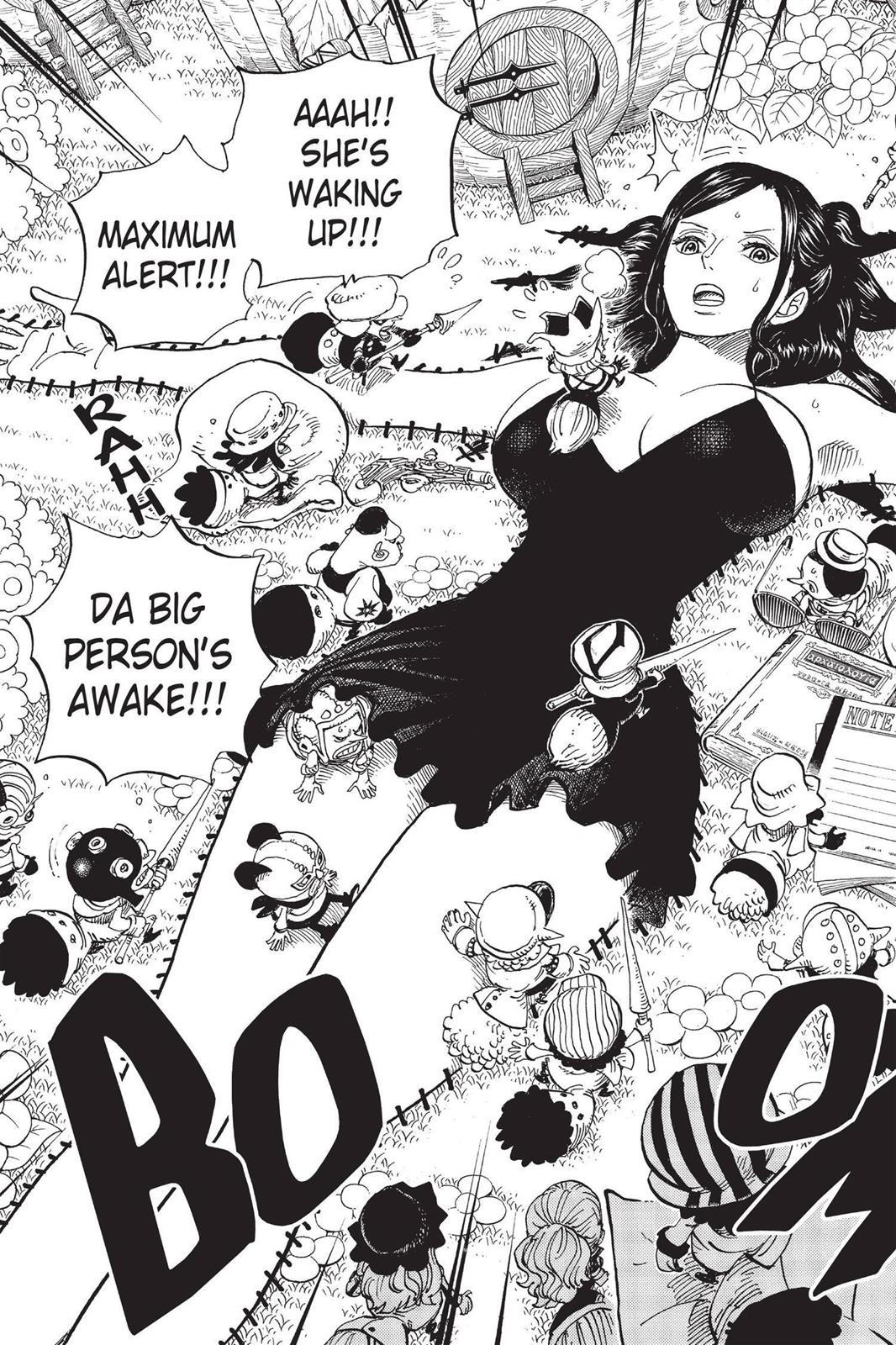 One Piece, Chapter 711 image 003