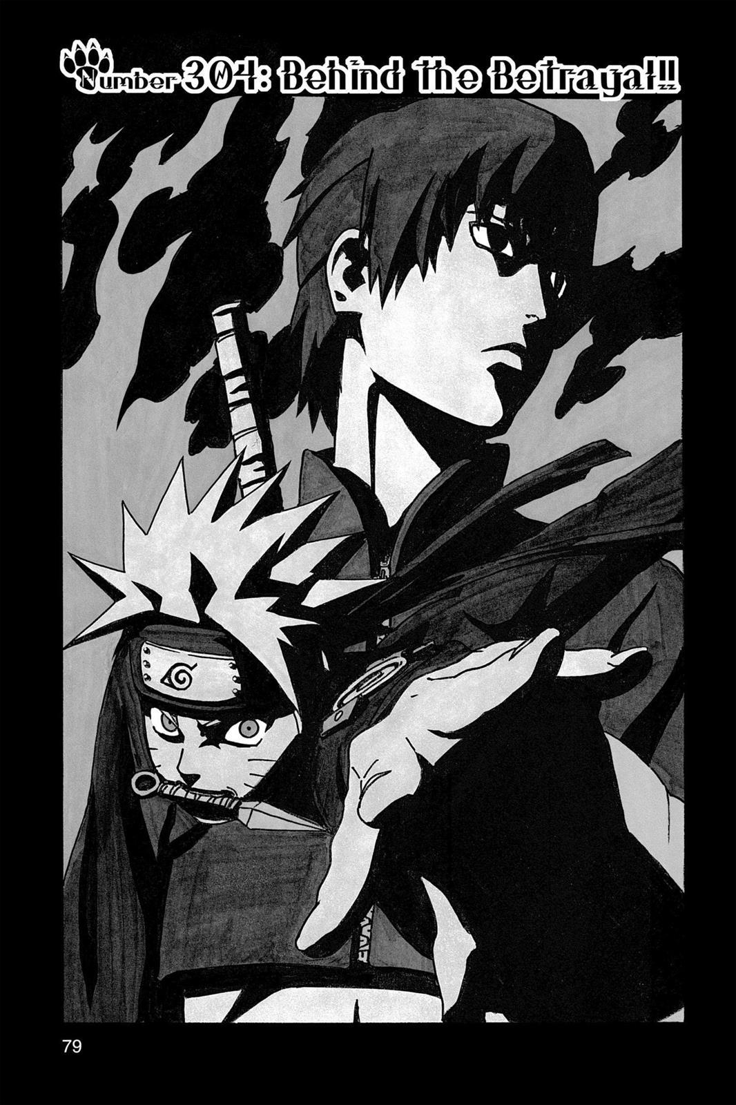 Naruto, Chapter 304 image 001