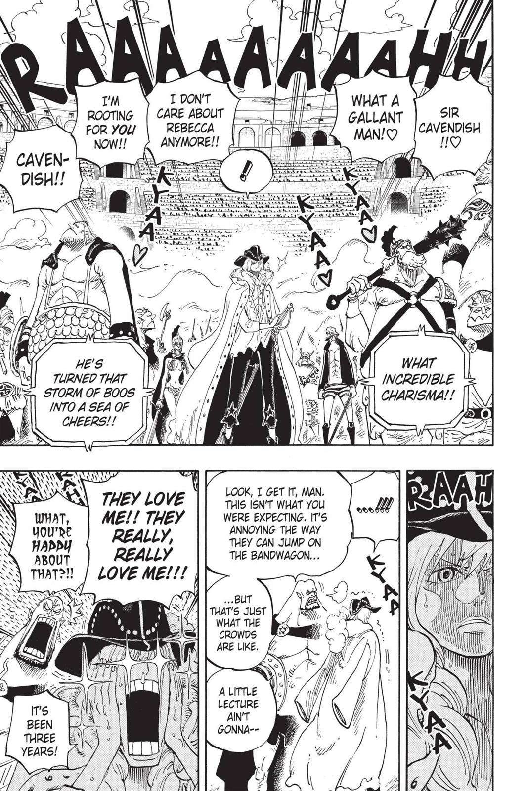 One Piece, Chapter 722 image 014