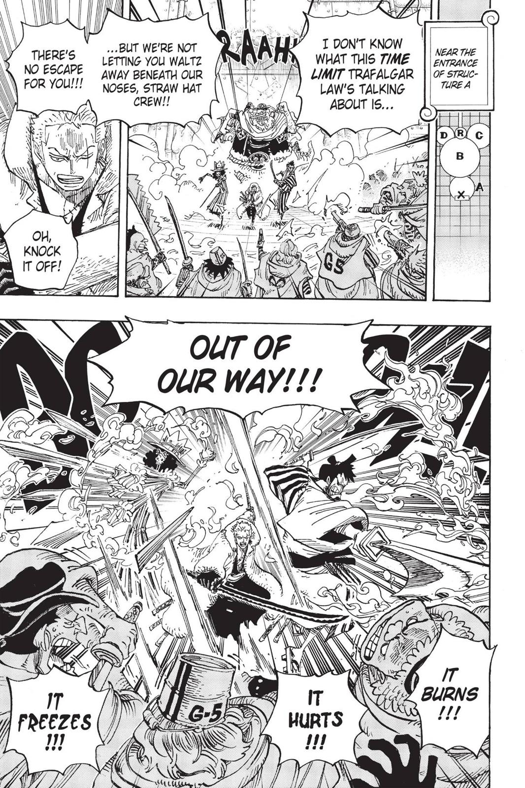 One Piece, Chapter 679 image 018