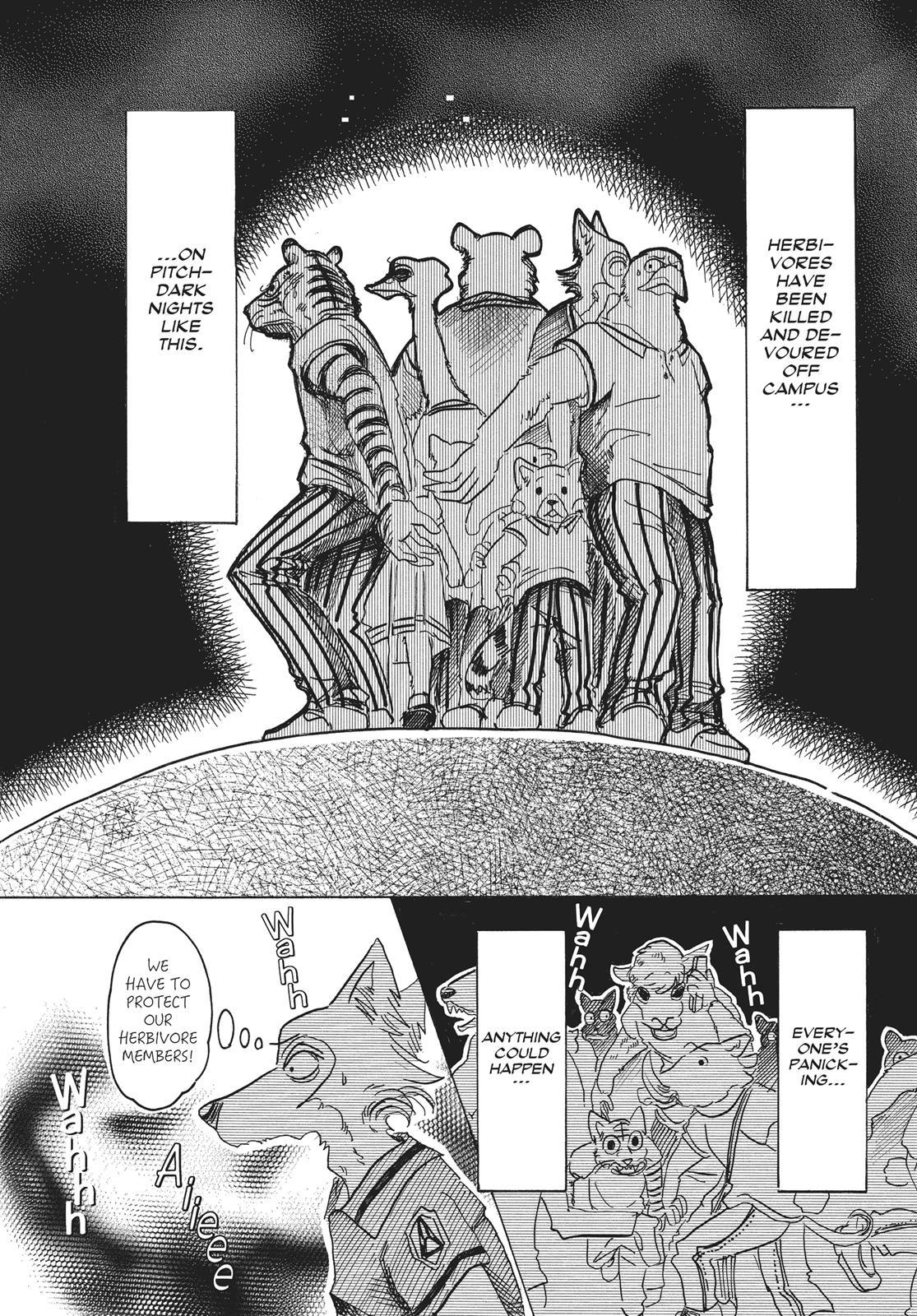 Beastars Manga, Chapter 32 image 012