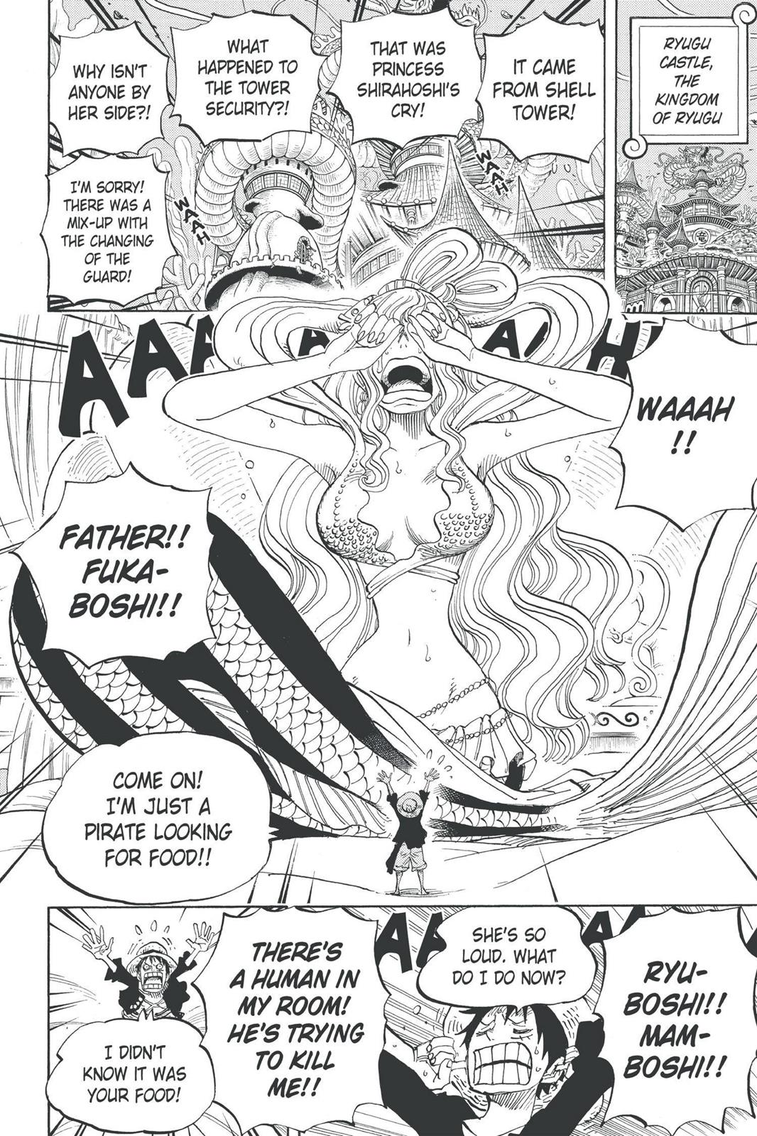 One Piece, Chapter 613 image 004