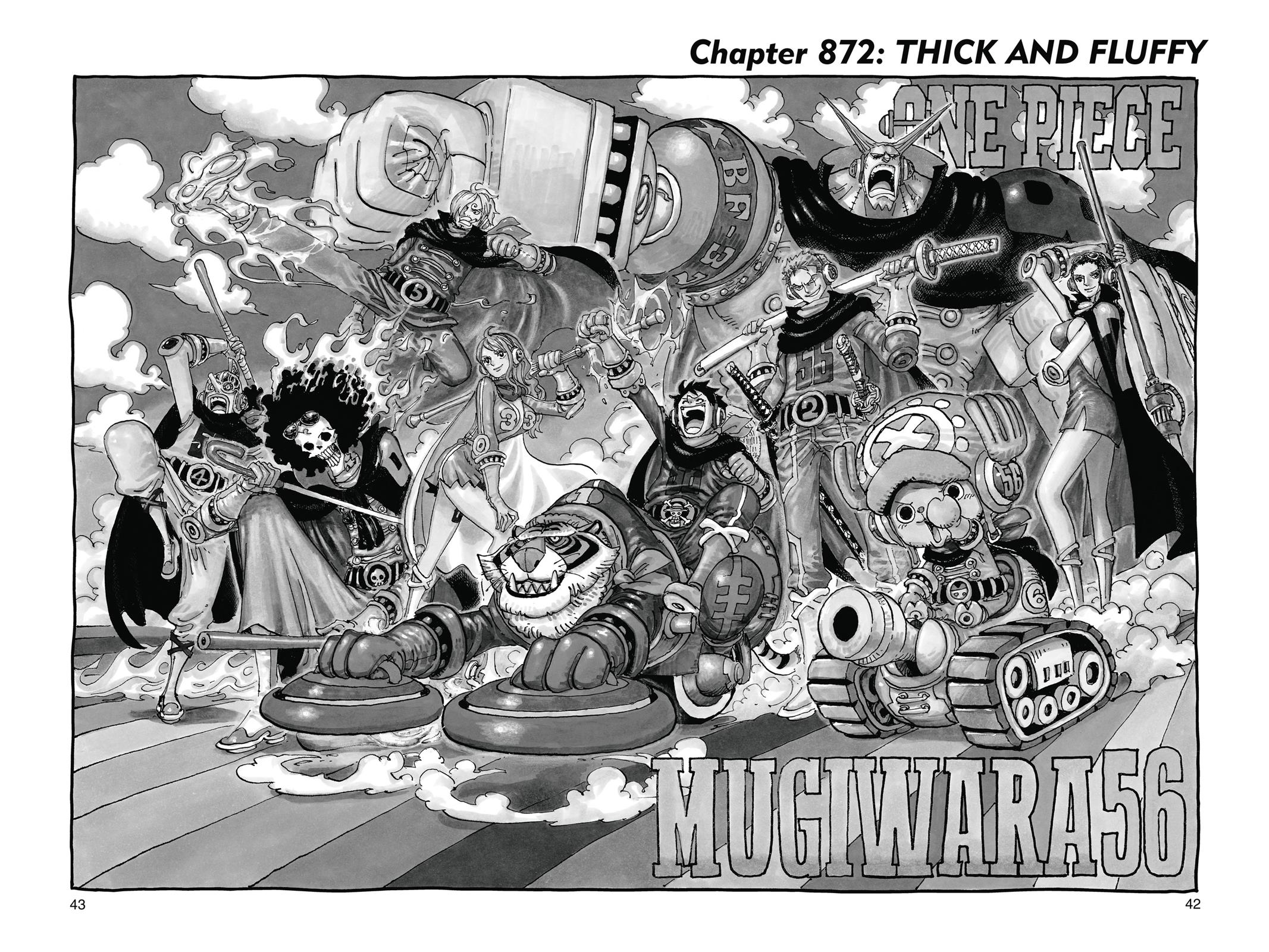 One Piece, Chapter 872 image 001