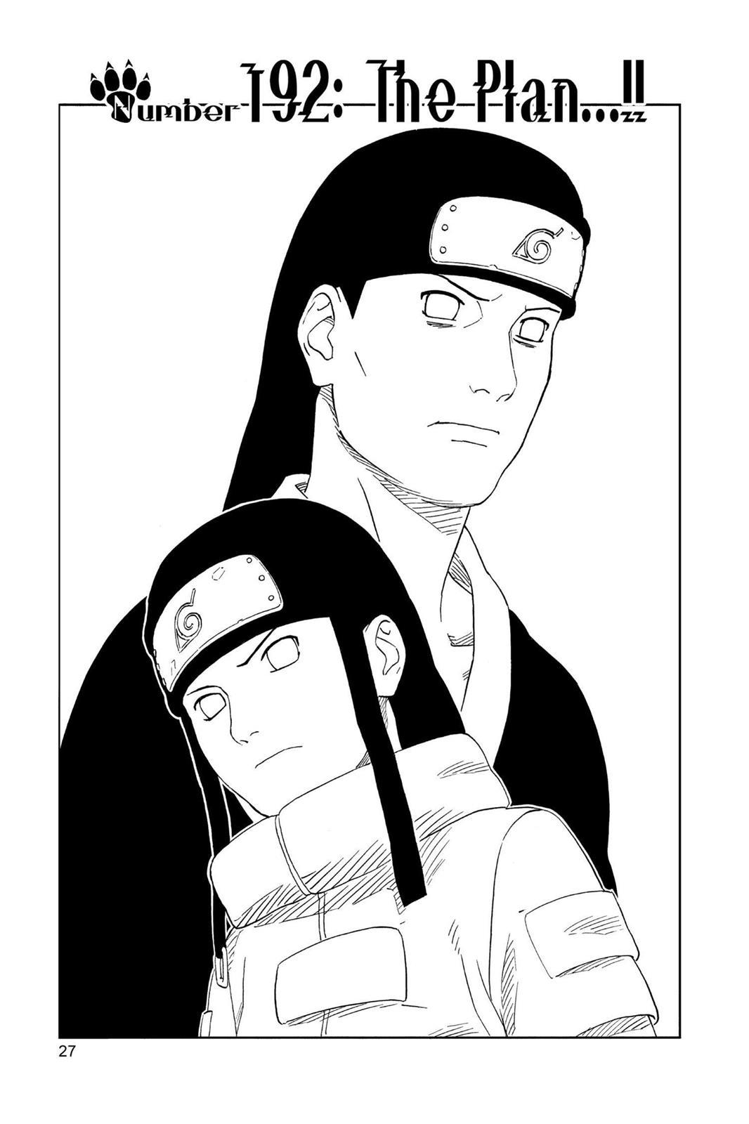 Naruto, Chapter 192 image 001