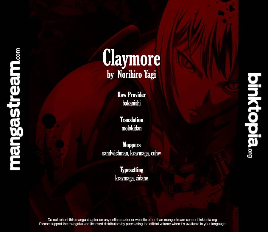 Claymore, Chapter 105 image 001