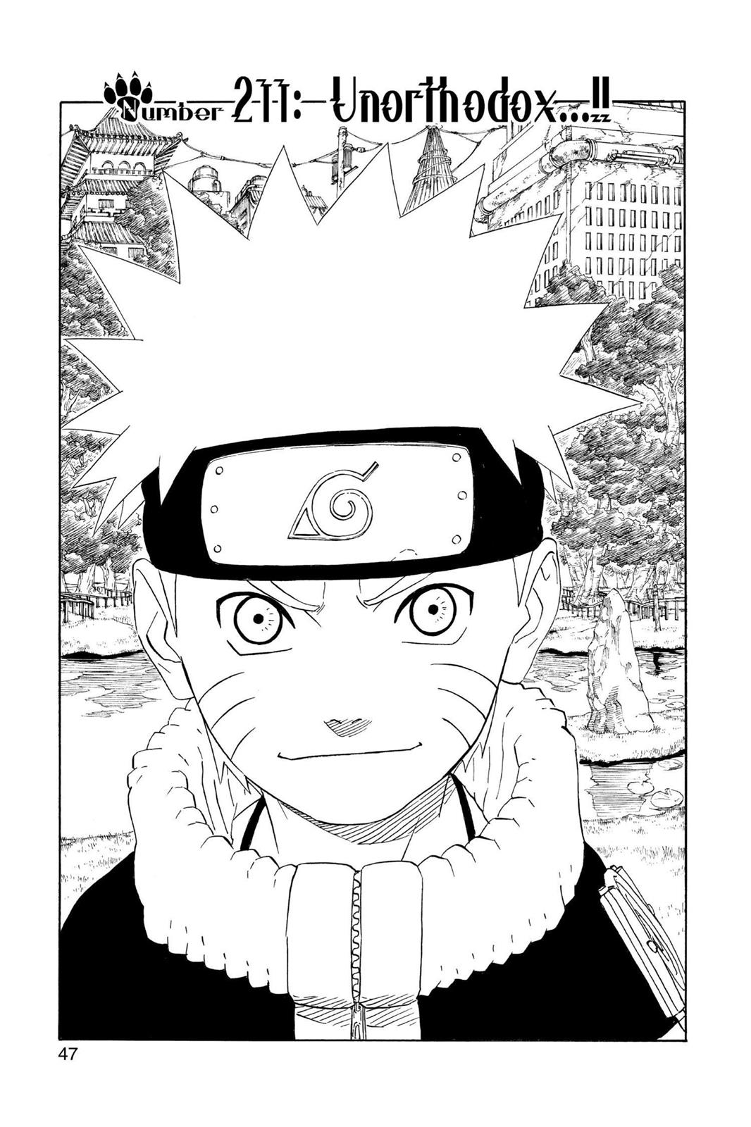 Naruto, Chapter 211 image 001