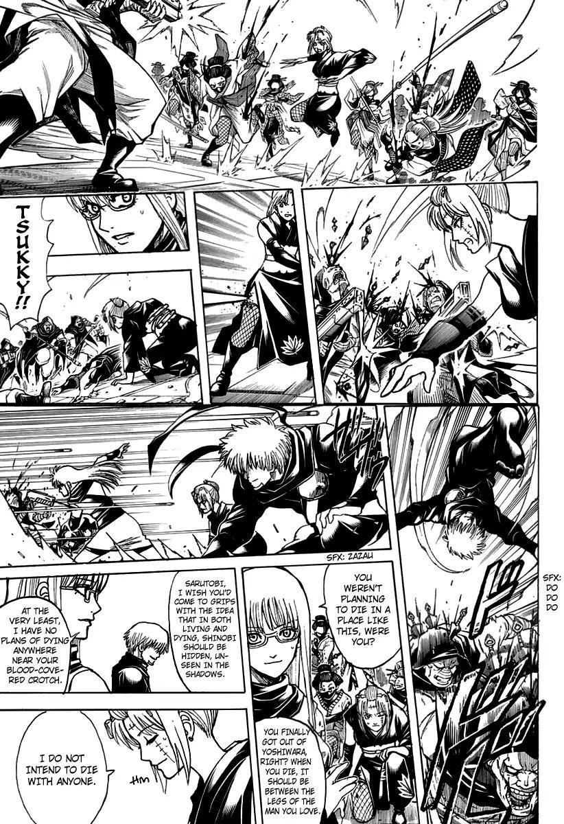 Gintama Chapter, 699 image 045