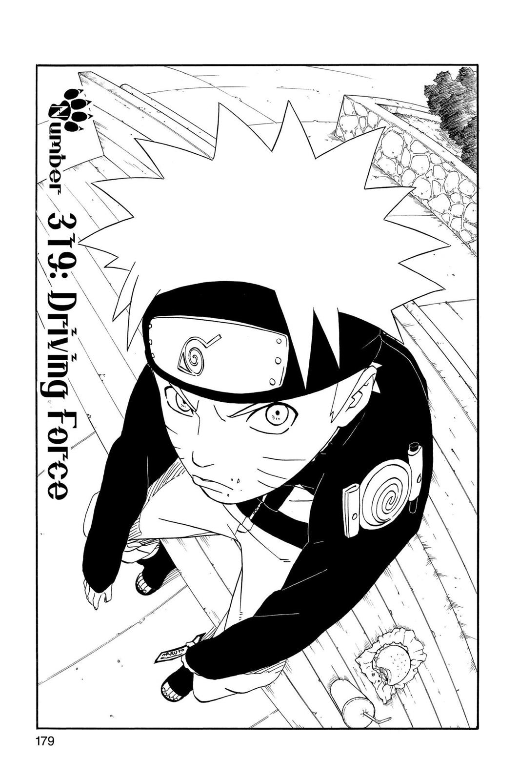 Naruto, Chapter 319 image 001