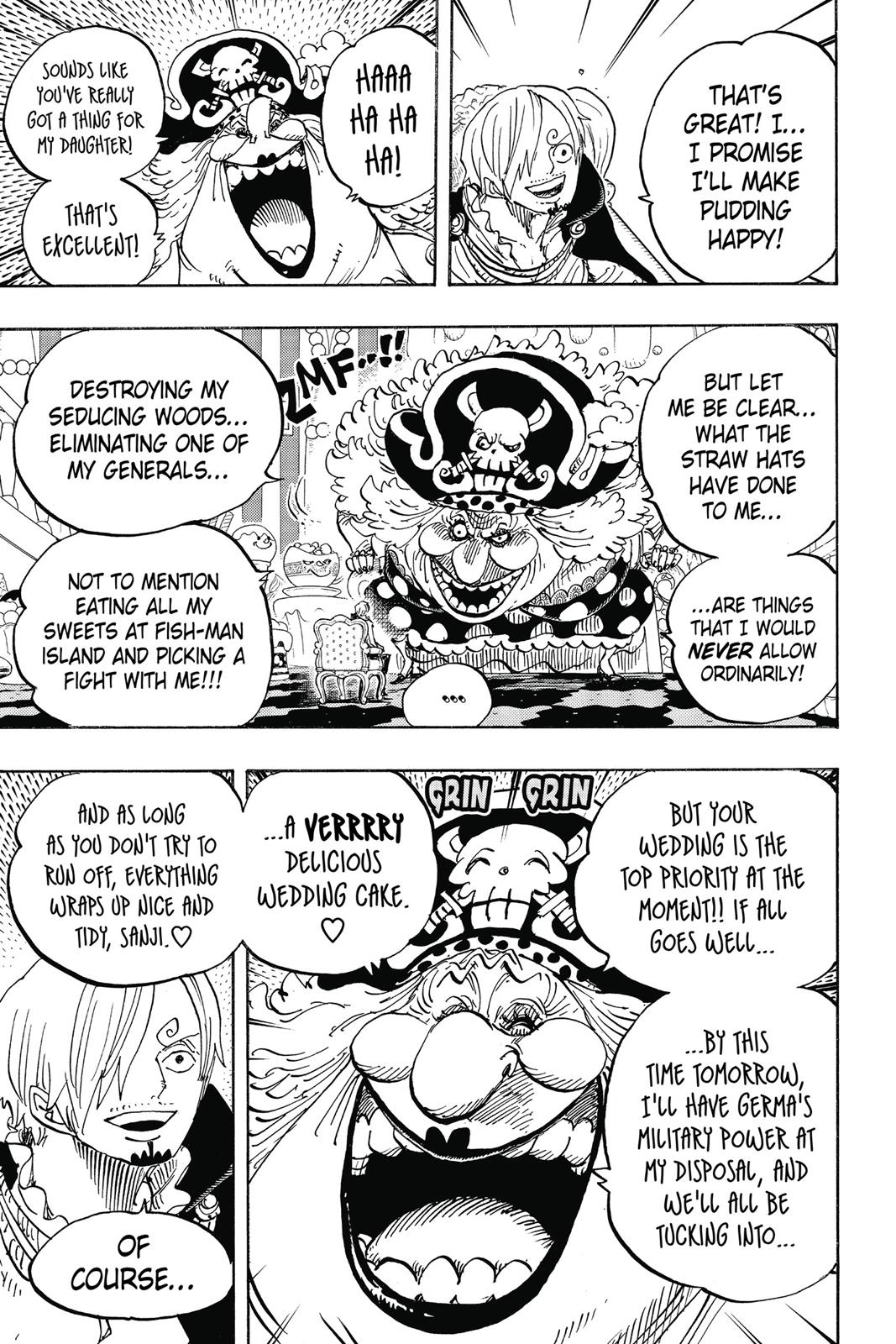 One Piece, Chapter 846 image 011