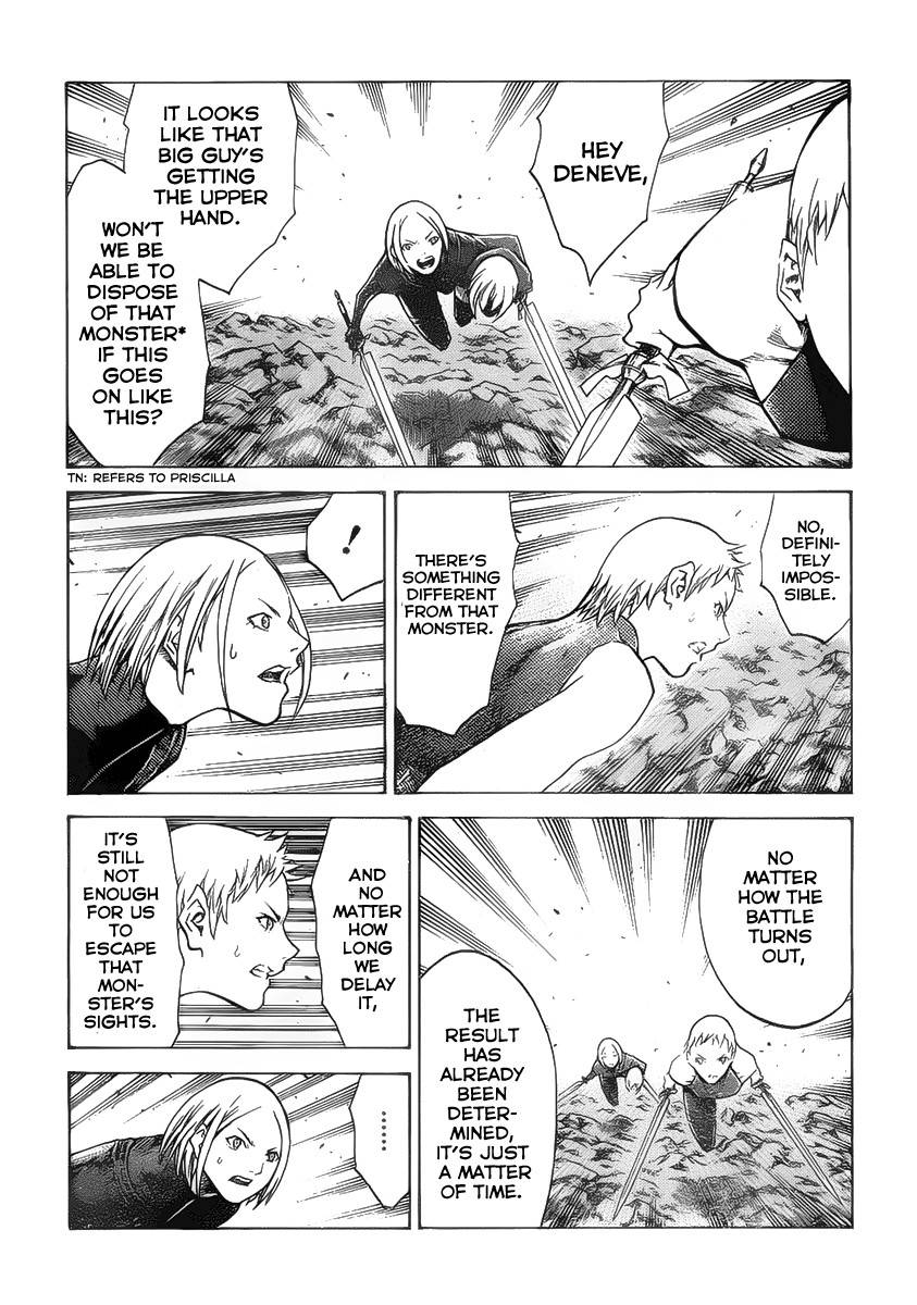 Claymore, Chapter 103 image 014