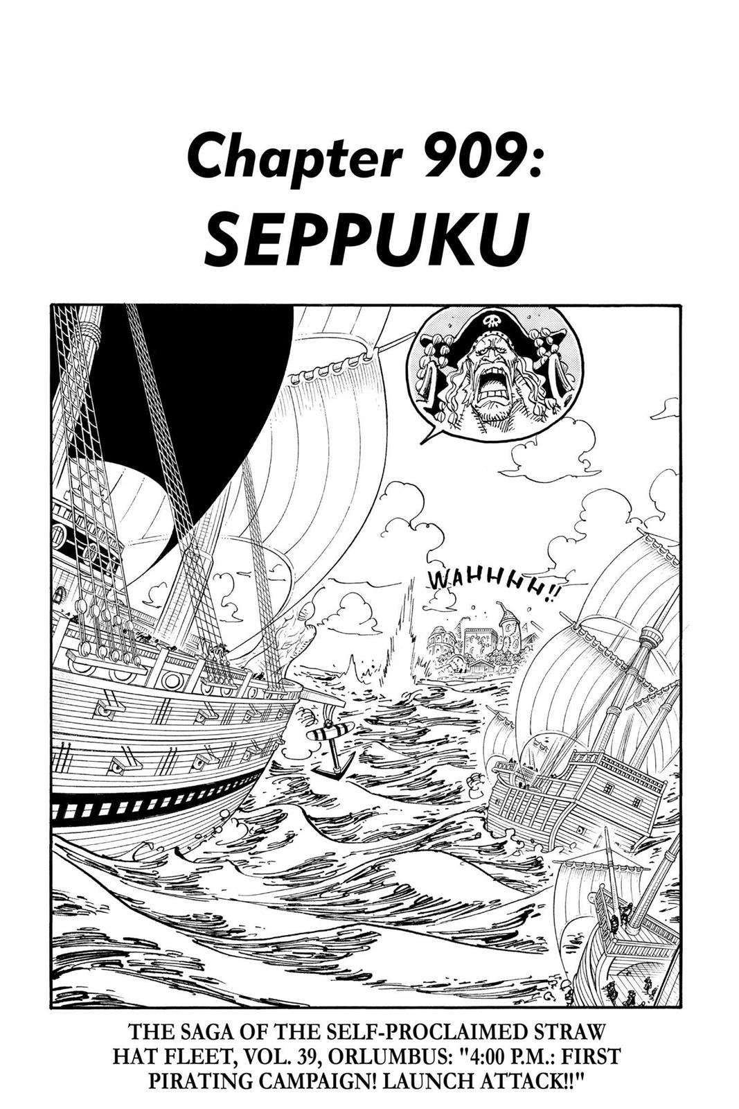 One Piece, Chapter 909 image 001