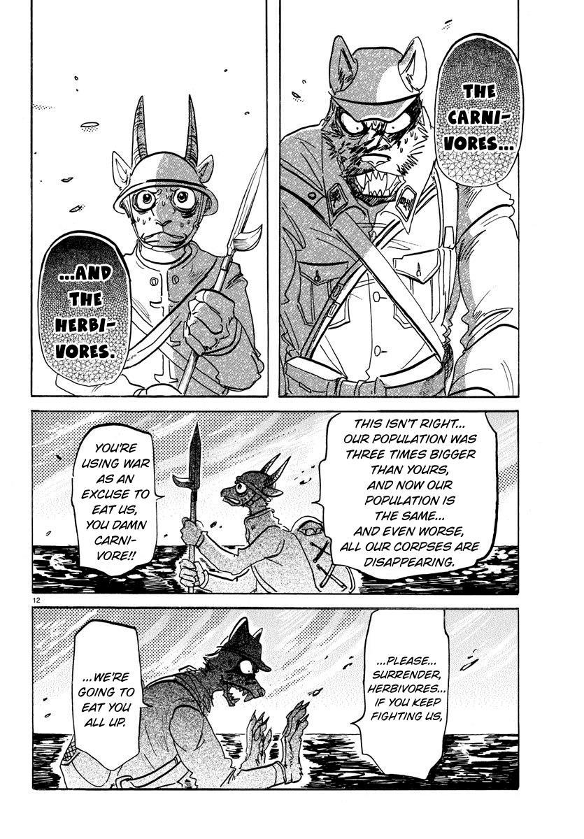 Beastars Manga, Chapter 154 image 012