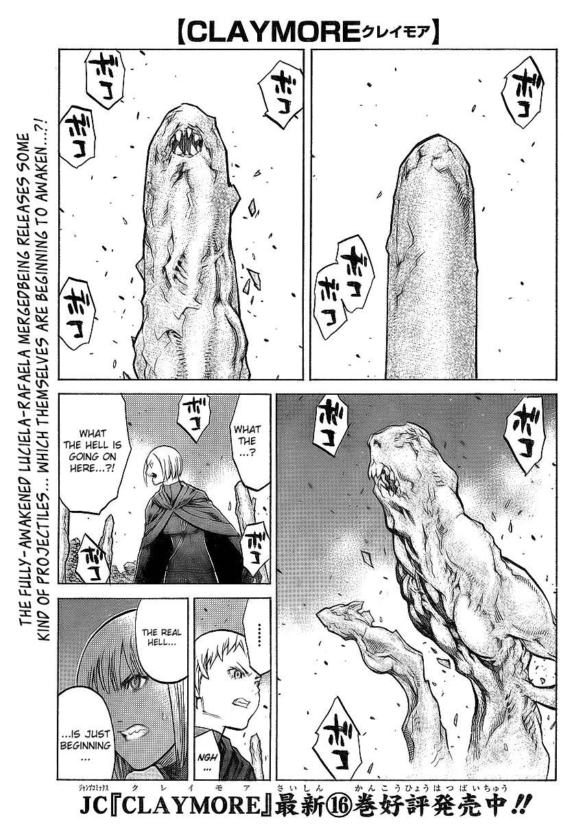 Claymore, Chapter 95 image 001