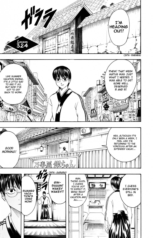 Gintama Chapter, 324 image 001