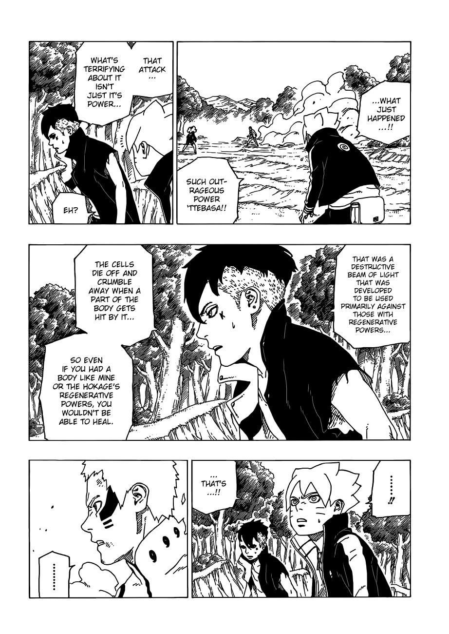 Boruto Manga, Chapter 32 image 019