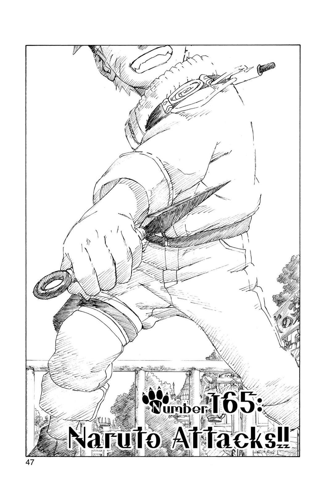 Naruto, Chapter 165 image 001
