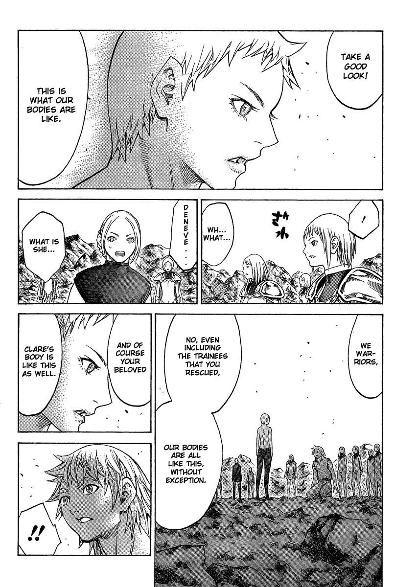 Claymore, Chapter 127 image 023