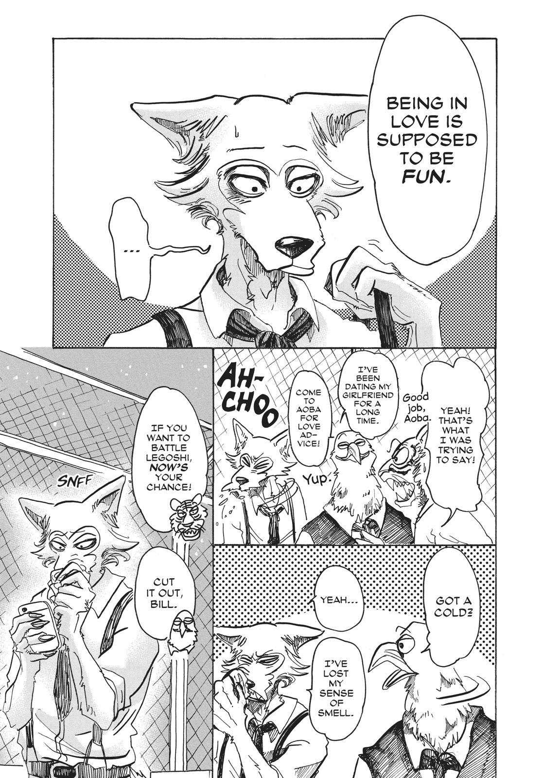 Beastars Manga, Chapter 59 image 015
