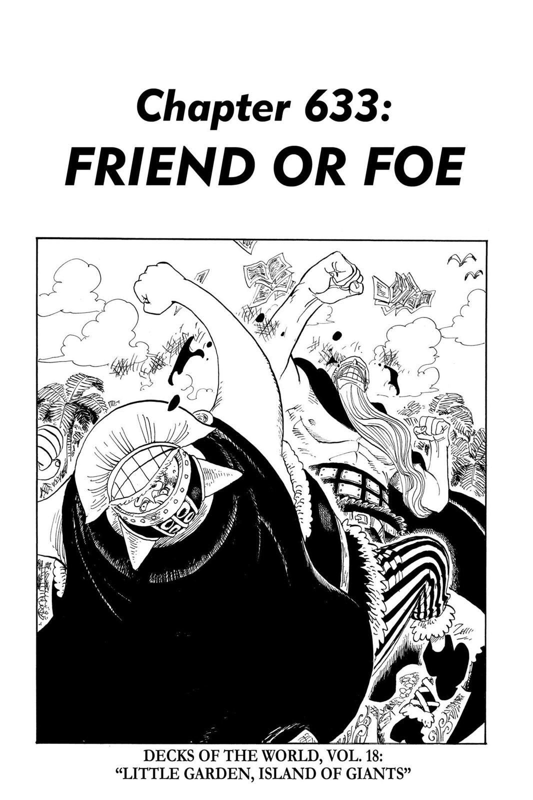 One Piece, Chapter 633 image 001