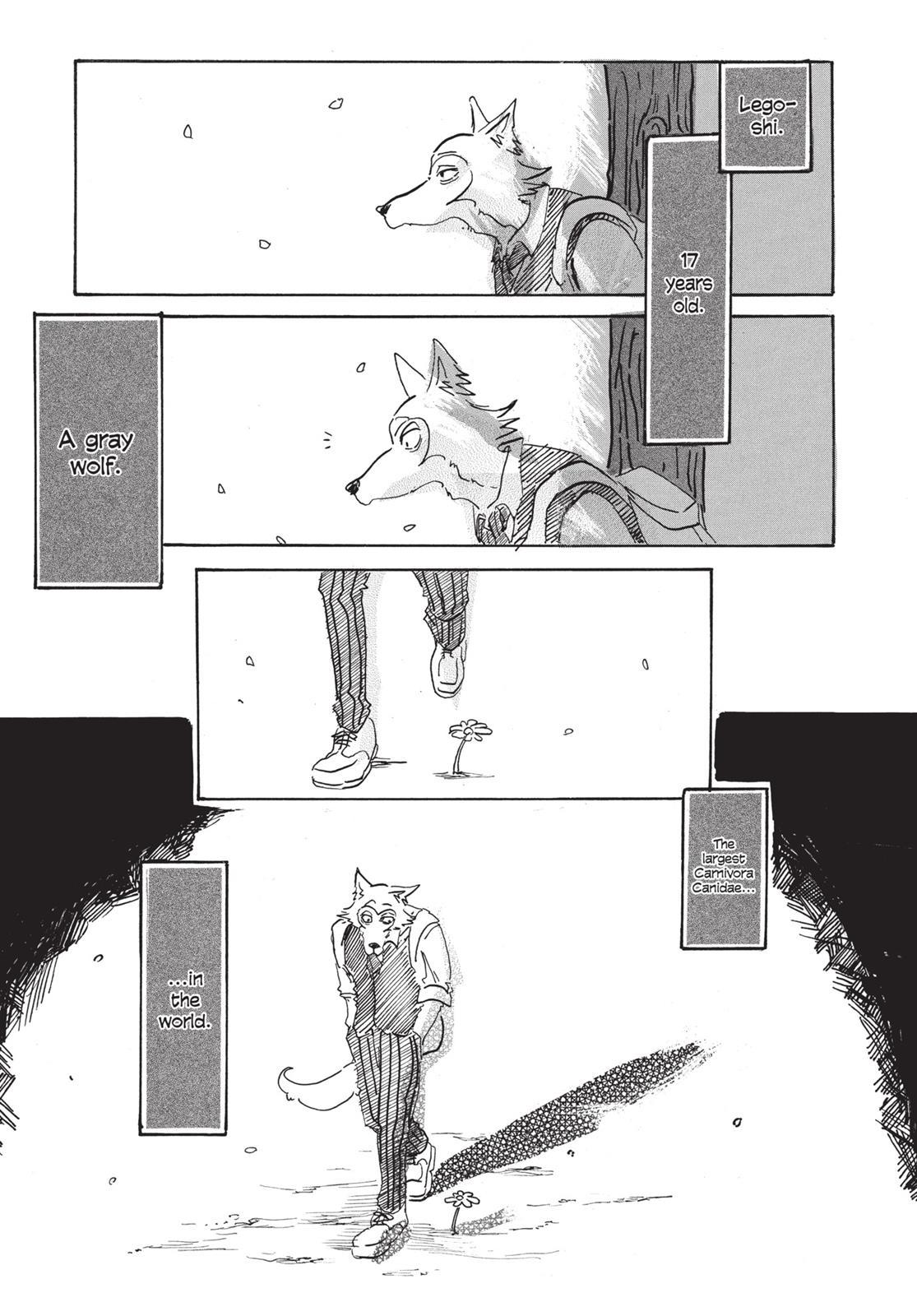 Beastars Manga, Chapter 1 image 056